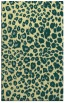 rug #631093 |  yellow circles rug