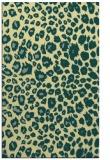 rug #631093    yellow circles rug
