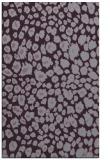 rug #631125    purple animal rug