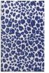 rug #631169 |  blue circles rug