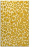 rug #631177 |  yellow animal rug