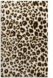 rug #631185 |  brown circles rug