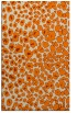rug #631205 |  orange animal rug