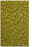 rug #631209 |  light-green animal rug