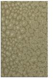 rug #631213 |  light-green animal rug