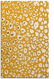 rug #631225 |  light-orange animal rug