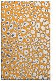 rug #631237 |  light-orange animal rug