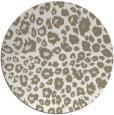 rug #631241 | round white circles rug