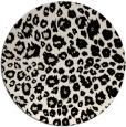 rug #631317   round blue-green circles rug