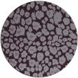 rug #631477 | round purple circles rug