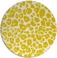 rug #631517 | round white circles rug