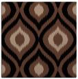 rug #631961 | square black animal rug