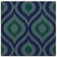 rug #631977 | square blue animal rug