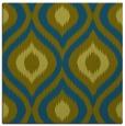 rug #632005 | square green animal rug