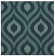 rug #632017 | square blue-green animal rug