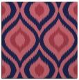 rug #632037 | square blue-violet animal rug