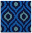rug #632113 | square blue animal rug