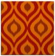 rug #632189 | square orange popular rug