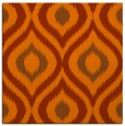 rug #632201 | square red-orange animal rug
