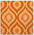 rug #632205   square red-orange animal rug