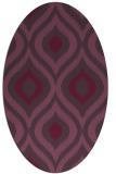 rug #632522 | oval natural rug