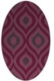 rug #632523   oval animal rug