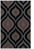 rug #632657 |  black animal rug