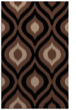 rug #632665 |  brown animal rug