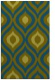 rug #632709 |  green popular rug