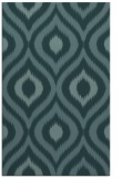 rug #632721 |  blue-green animal rug