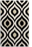 rug #632725    blue-green animal rug