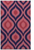 rug #632741 |  blue-violet natural rug