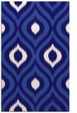 rug #632753    blue-violet animal rug