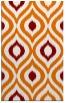 rug #632841 |  orange animal rug