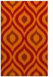 rug #632893 |  orange animal rug