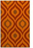 rug #632905 |  red-orange animal rug