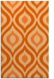 rug #632909 |  red-orange animal rug