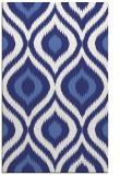rug #632929    blue animal rug