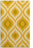rug #632937 |  yellow animal rug