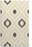 rug #632941 |  yellow animal rug
