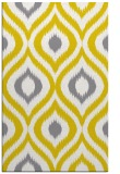 rug #632949 |  yellow natural rug
