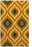 rug #632953 |  light-orange animal rug