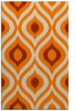 rug #632965 |  orange animal rug
