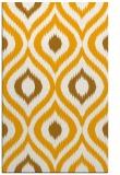 rug #632985    light-orange animal rug