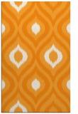 rug #632993 |  light-orange natural rug