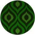 rug #633069 | round green animal rug