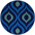 rug #633169   round blue animal rug