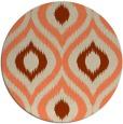rug #633197 | round beige natural rug