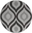 rug #633201 | round red-orange animal rug