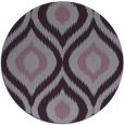 rug #633237 | round purple animal rug